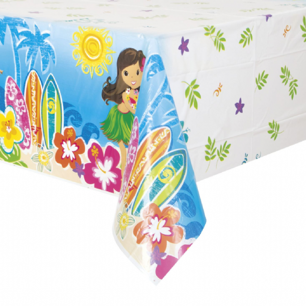 Wild Luau Plastic Table Cover